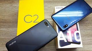 Realme C2 vs Samsung Galaxy A10 - Which Should You Buy ?