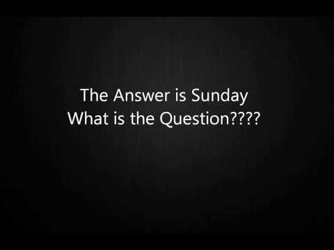 What's the question?  Sunday - Father's Day radio phone call