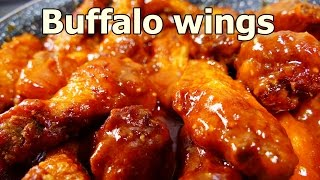 TANGY BUFFALO CHICKEN WINGS | Tasty and Easy food recipes for dinner to make at home