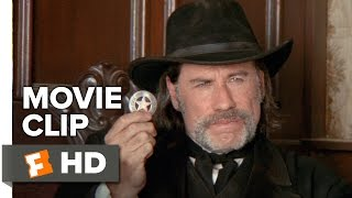 In a Valley of Violence Movie CLIP - I am the Marshall (2016) - John Travolta Movie