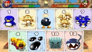 Mario Party 8 - Cardiators (All Characters)