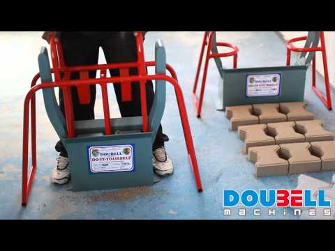 Doubell Machines DIY M6 Block Making Machine