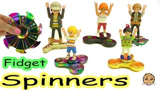 Fidget Spinners - Falling Off Super Fast Spinning Spinner At The Playmobil Tool Store