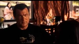 Steven Seagal Driven to kill opening scene (the trick is not to give a fuck)