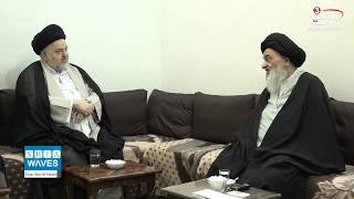 Grand Ayatollah Sayed al-Shirazi receives representative of Ayatollah Sistani