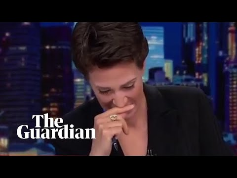 Xxx Mp4 Rachel Maddow Breaks Down During Report On Tender Age Shelters 3gp Sex