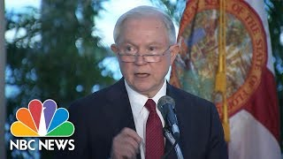 AG Jeff Sessions Condemns Sanctuary Cities, Calls Them