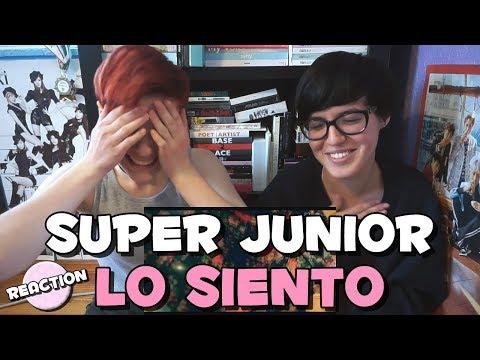 SUPER JUNIOR (슈퍼주니어) - LO SIENTO (FT. LESLIE GRACE) ★ MV REACTION