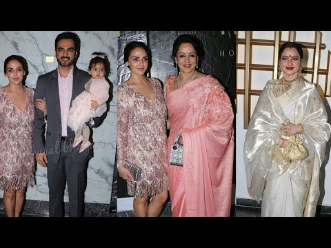 Xxx Mp4 Hema Malini S Celebrates Her 70th Birthday With Daughter Esha Deol And Freinds 3gp Sex
