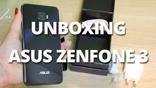 Unboxing ASUS ZenFone 3 - ZE552KL