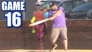 HOMERING OFF THE BOUNCE!   On-Season Softball League   Game 16