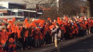 Thousands show up to welcome Clemson home from National Championship