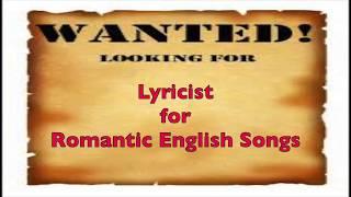 170627 Wanted English Lyricist