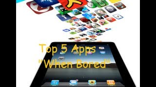 Top 5 iOS Apps Review (w/ Gameplay) All Free to Play to Kill Time & When You Are Bored!