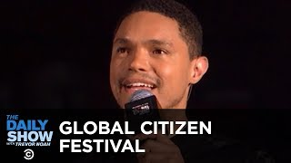 Trevor Hosts the Global Citizen Festival to Honor Nelson Mandela's 100th Birthday | The Daily Show