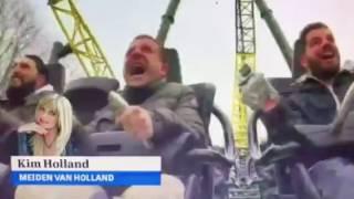 Kim Holland zindert van Pretparkporno