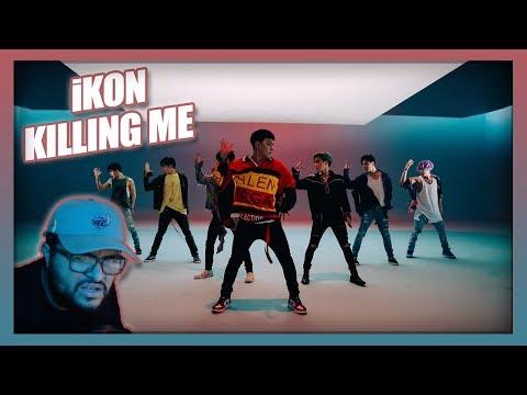 iKON - KILLING ME(죽겠다) MV REACTION!!! | DROP THAT SH*T!!!