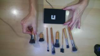 ASMR Brushing - aggressive brushing near/on mic - No talking