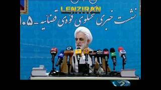 Mohseni Ejei talk about technical cause of train accident and high salaries