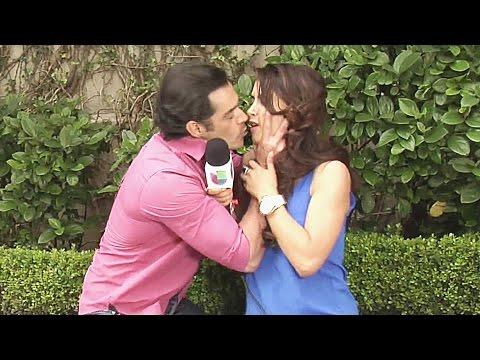 ¿Qué hizo Sebastián Zurita para que Juan Ángel le robara un beso a Jessica Cediel