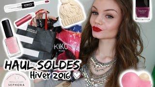 Haul Soldes ( MAC, Sephora, H&M ...) ♥