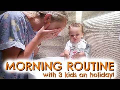 Xxx Mp4 MORNING ROUTINE WITH KIDS ON VACATION HOLIDAY 3gp Sex