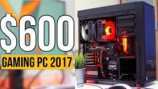 Build a $600 RYZEN 5 Gaming PC! - PC Build Guide 2017 (ft. Ryzen 1400)
