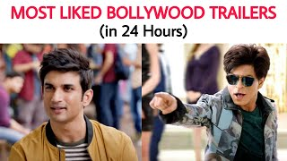 Top 10 Most Liked Bollywood Trailers in First 24 Hours