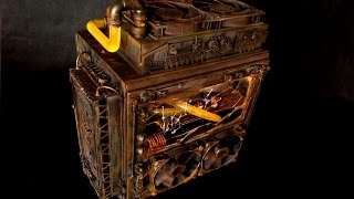 Project Biohazard - Weathered Steampunk Themed Custom Water Cooled PC Build - Liquid Cooled Case Mod