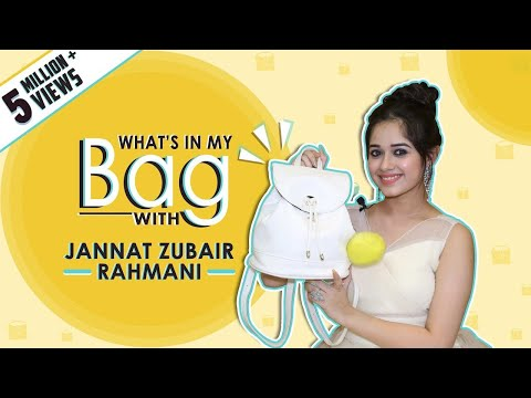 Xxx Mp4 Whats In My Bag With Jannat Zubair Rahmani Bag Secrets Revealed Exclusive 3gp Sex