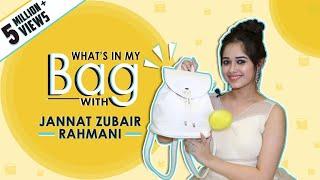 What's In My Bag With Jannat Zubair Rahmani   Bag Secrets Revealed   Exclusive