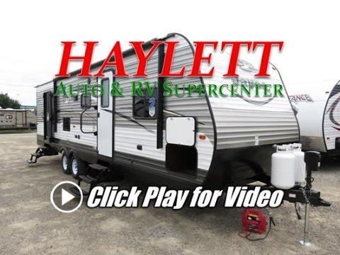 HaylettRV.com - 2017 Jayco Jay Flight 28BHBE Bunkhouse Bathrom Entry Travel Trailer