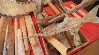 Indiana James Kangaroo Island - Found Object Sculptures