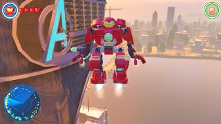 Lego Marvels Avengers How to Unlock All Characters in Manhattan