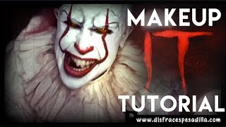IT Pennywise 2017 Makeup Tutorial
