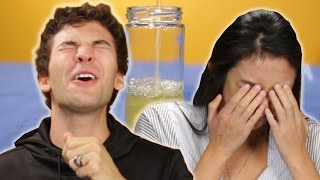 People Try Drinking Their Own Pee For The First Time
