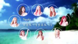 [Lyric M] Girls' Generation(SNSD) - PARTY, 소녀시대 - 파티