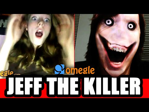 Jeff the Killer Scares Omegle Video