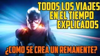 The Flash Viajes en el Tiempo de la Temporada 1 y 2 Explicados| Remanentes de tiempo