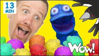 Magic School Story from Steve and Maggie + MORE Stories for Kids   Learn Wow English TV