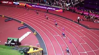 4x100m Relay Women Heat 1 IAAF World Champs London 2017