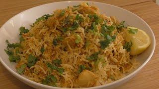 Chicken Biryani ( Simple Version )