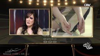 شاهد تأثر الفنانة هبة الدري بعد عرض مشهد الاعتداء عليها في مسلسل عبرة شارع