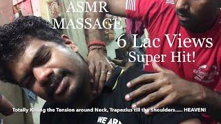 Best Indian Head Massage & Back Massage (2 Back Cracks)|By MunnaLal|ASMR|60 FPS