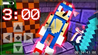 Do NOT Spawn SONIC.EXE In Minecraft Pocket Edition at 3:00 AM! (WARNING: SCARY)