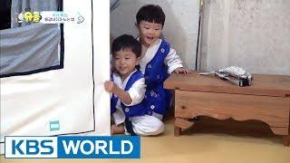 How Sian & Seungjae play around. [The Return of Superman / 2017.10.15]