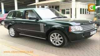 Businessman Arrested Over Moi's Stolen Range Rover