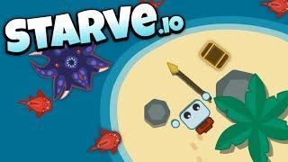 Starve.io - Hunting Pirate Treasure! - Let