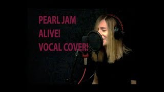 Alive - Pearl Jam, Vocal Cover By Ramiro Saavedra