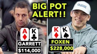 $200/$400 Adelstein & Foxen GO TO WAR!! $240,000 On The Line!